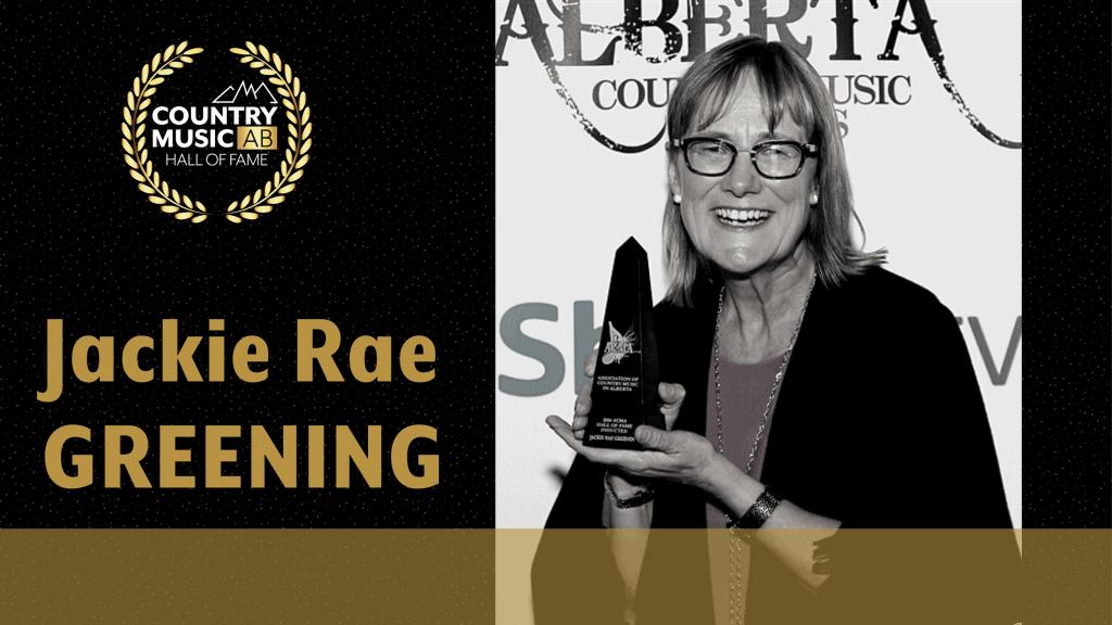 2016 Jackie Rae Greening